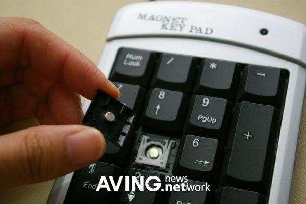 Embotec Magnet Keyboard Floats Keys