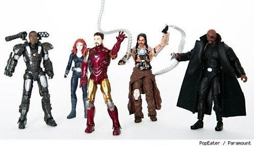 iron man 2 toys