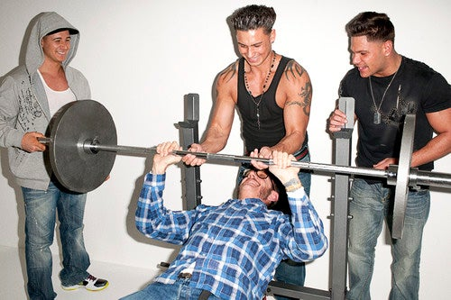 The Men of Jersey Shore Get a Master Class in Irony from Terry Richardson