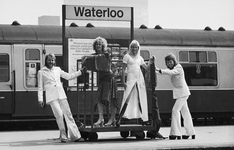 The Design Of Abba's Clothing Was Actually A Form Of Tax Evasion