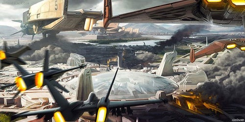 Massive Black explores the wild, awesome world of starships and more