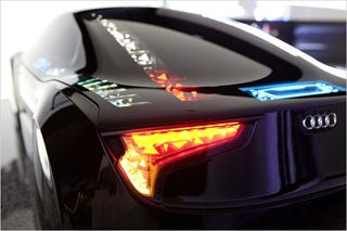 OLED Lights Will Make Future Audis Glow Like Jellyfish