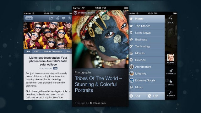 News360 for iPhone Updates with a New Interface, a New Home Section, and New Organization Methods
