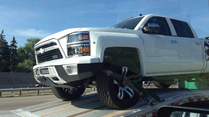 Off-Road Aggressor Chevrolet Silverado Reaper Is Released To The Wild