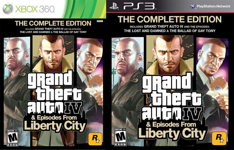 Grand Theft Auto IV: The Complete Edition Coming Soon