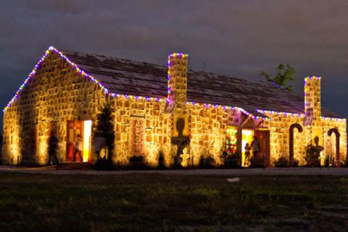 Texas Gave Us The World's Biggest Gingerbread House This Year