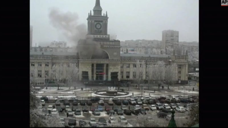 Suicide Attacker Detonates Bomb In Russian Train Station