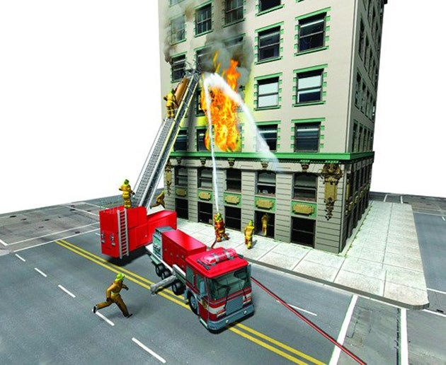 Fire Trucks With Escalators Would Save Many More Lives