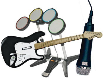 Mad Katz to Make Wireless and Wired Rock Band Instruments