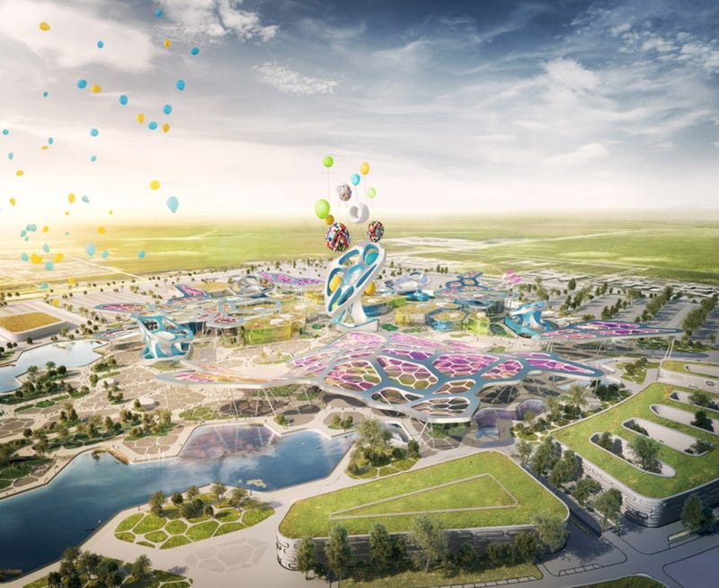Los edificios imposibles que veremos en la próxima Exposición Mundial