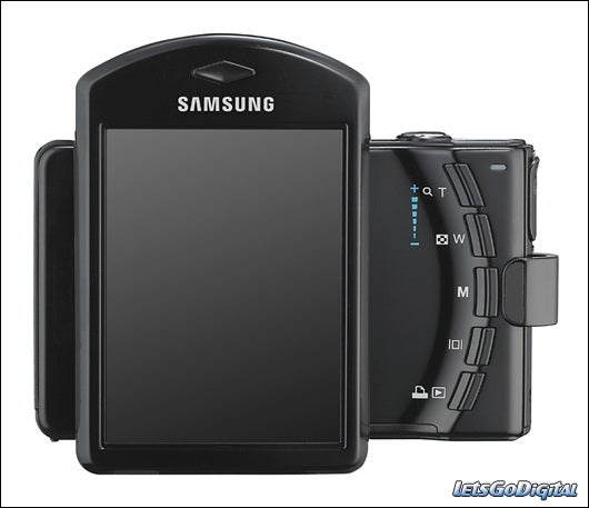 Samsung i7 Digital Camera has a Rotating LCD