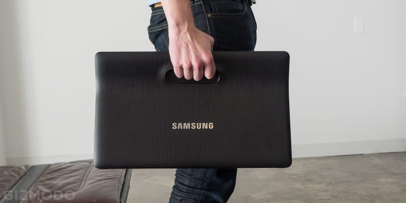 Samsung's Huge Galaxy View Is the Take-Anywhere TV You Never Knew You Wanted