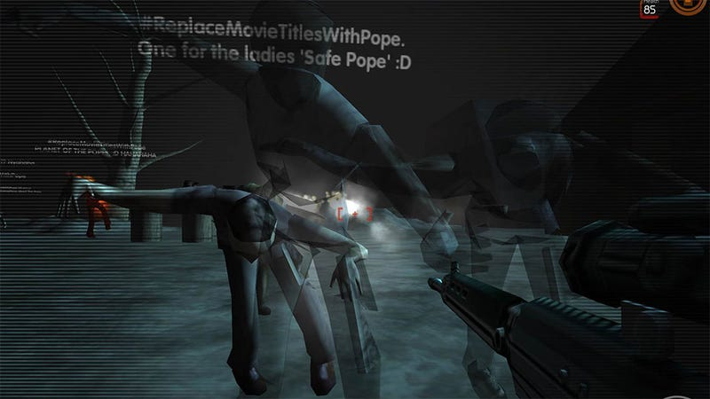 Twitter Trends Turn Deadly in This Insane Experimental Shooter