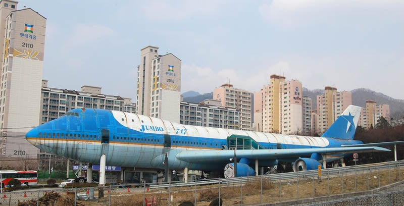 First Commercial 747 Is Now a Crappy Restaurant in Korea
