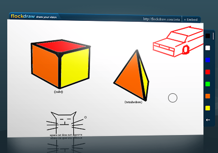 FlockDraw Is Like a Collaborative, Real-Time Paint