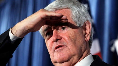 We Have a Frontrunner for Newt Gingrich's Best Horrible Campaign Line