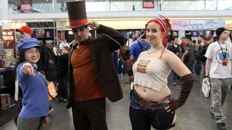 PAX East Cosplay Day 2: The Castle Crasher, The Little Sister, And A Lego Master Sword