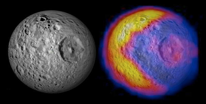 NASA Discovers Pac-Man On Death Star Saturn Moon