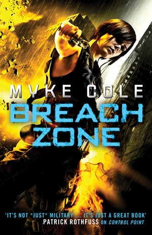 Myke Cole's Breach Zone is like The Dark Knight Rises with sorcery