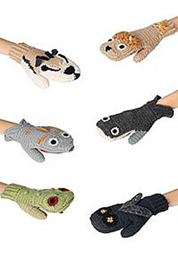 Animal Mittens Make Your Hands Predator and Prey