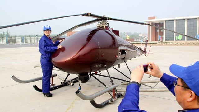 V750 Unmanned Helicopter Can Rival US Counterparts