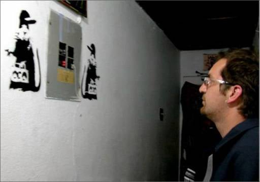 Banksy's Face