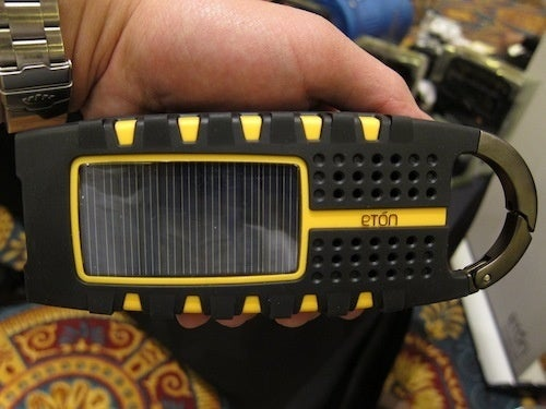 Eton Scorpion Radio Has a Flashlight, Solar Charger and Bottle Opener