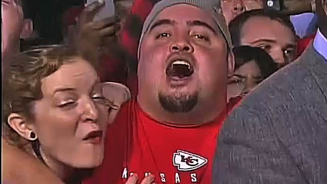 Wacky Chiefs Fans In Philly Deserve High-Def, Super-Slow-Mo Treatment