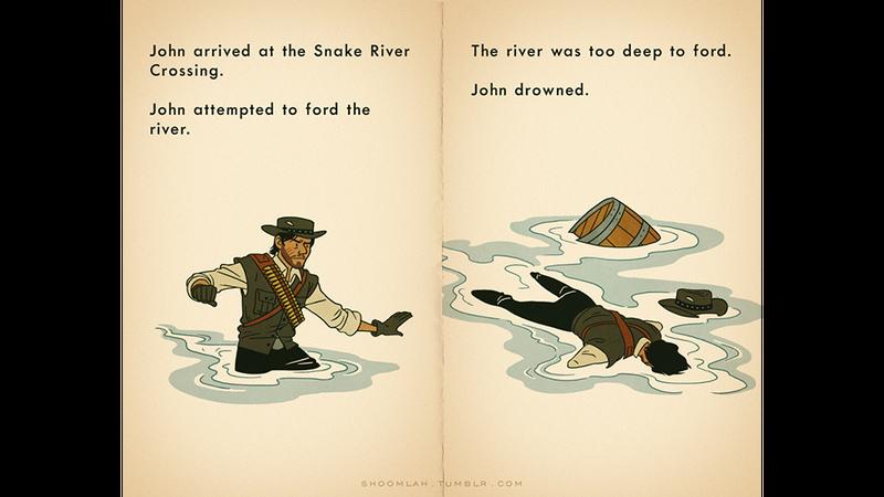 John Marston Died On The Oregon Trail