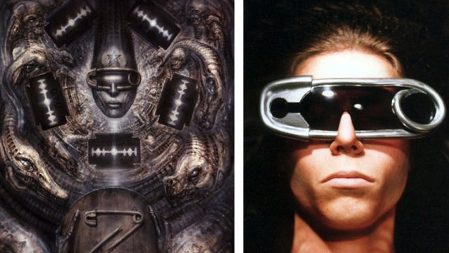 I want these homemade H.R. Giger-inspired sunglasses