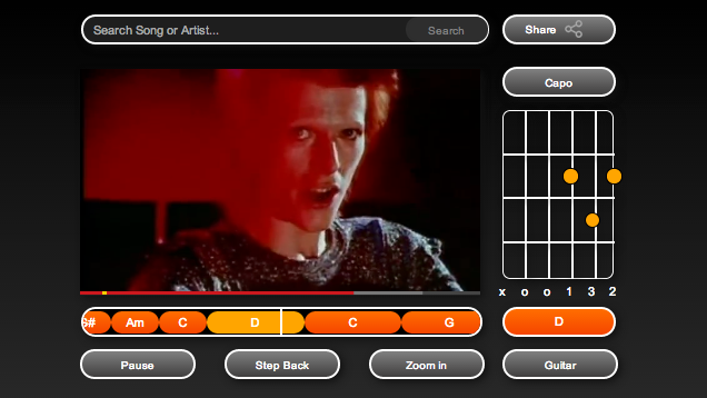 Riffstation Teaches Guitar By Showing Chords as a Song's Video Plays