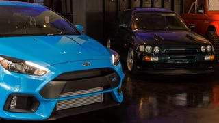 Please Drool Over These Photos Of The Focus RS And An Escort Cosworth