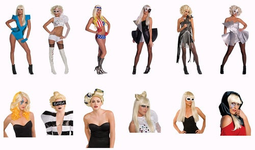 Here Are the Official Lady Gaga Costumes That Will Be Ubiquitous This Halloween
