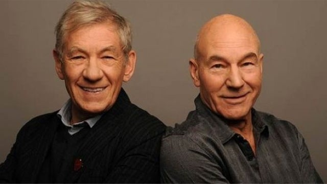 Ian McKellan is about to marry Patrick Stewart