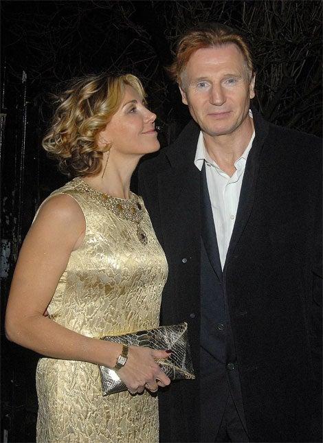 "Liam Neeson's ""Ginger"" Grecian Formula"