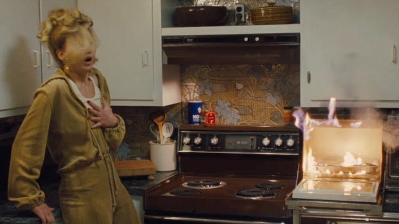 Watch Jennifer Lawrence Blow Up A Microwave in American Hustle