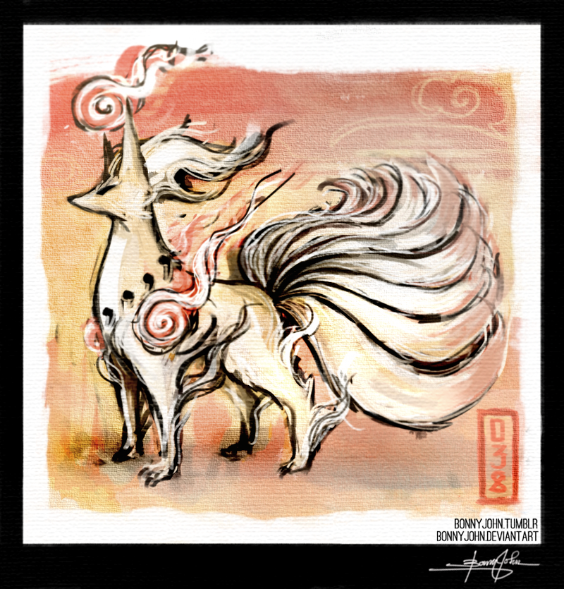 Amater- Ninetales, Pokemon One a Day!