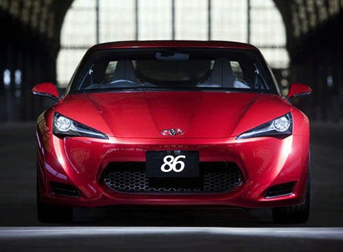 "Toyota ""86's"" The ""FT"""