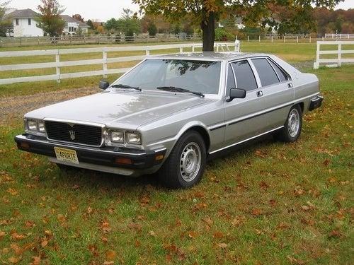1980 Quattroporte for Sessanta Sette Cinquanta!