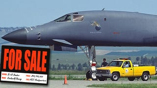 The B-1B Bomber That Got Put Up 'For Sale,' As Is, No Warranty