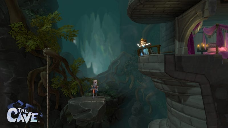Screenshots From Within The Cave