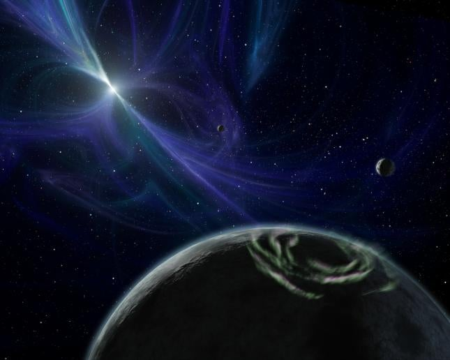 How to Find Your Way Home by the Light of a Pulsar