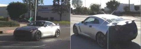 Spy Photos: Nissan GT-R Video