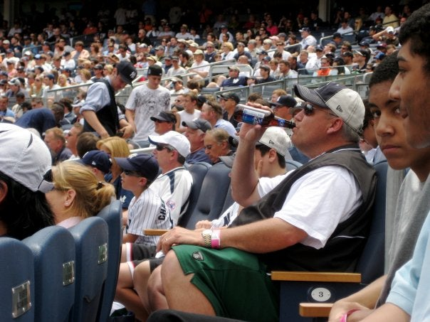 Rex Ryan Classes Up The Legends Suite At Yankee Stadium