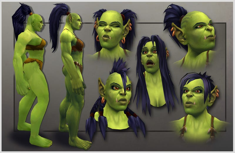 World Of Warcraft's New Orc Female: Now 100 Percent Less Stupid