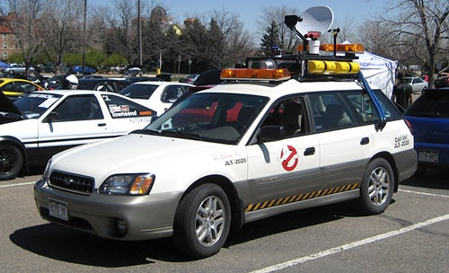 The Lighter Side Of Subarus: The Outback Ecto-1