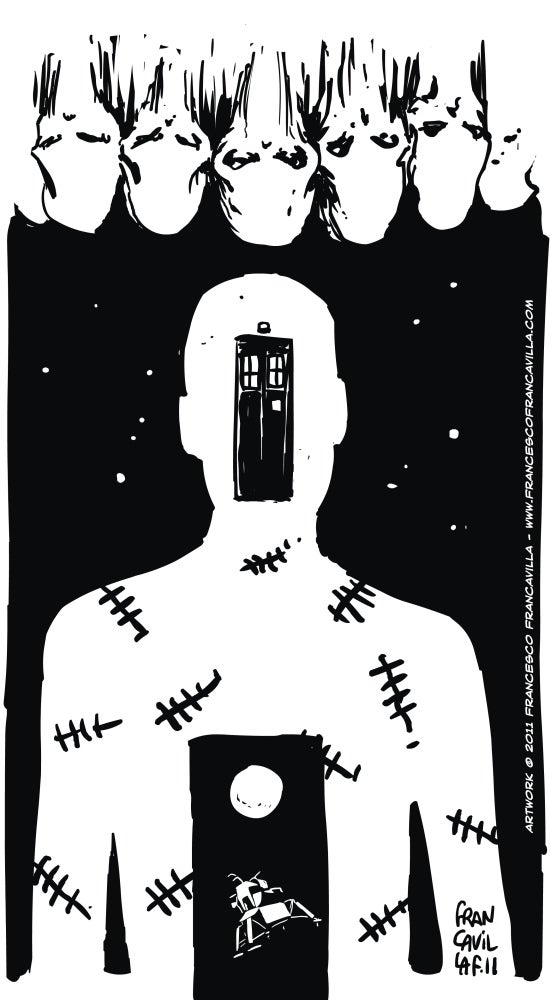 Doctor Who episodes illustrated as striking posters