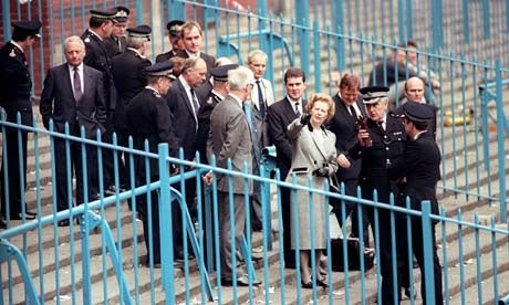 MARGARET THATCHER AND HER ATTEMPTS TO DESTROY ENGLISH FOOTBALL