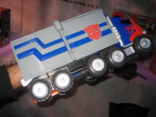 Toy Fair 2007: Optimus Prime Transforms Into Profit