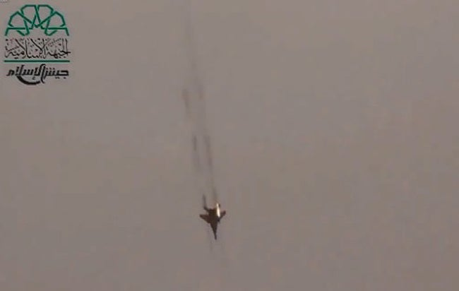 Syria Turns Its Fighter Jets Into Attack Planes